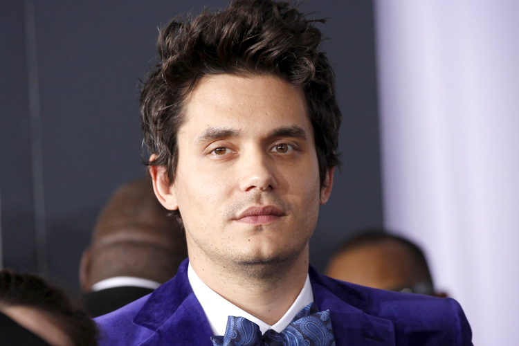 Singer John Mayer arrives at the 55th annual Grammy Awards in Los Angeles