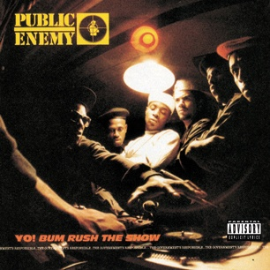 Public Enemy Yo! Bum Rush The Show HIGH RESOLUTION COVER ART